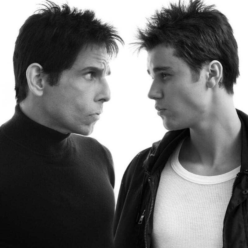 El cantante canadiense participará en la segunda entrega dirigida y protagonizada por Ben Stiller y Owen Wilsen, y en la que también participará Penélope Cruz.