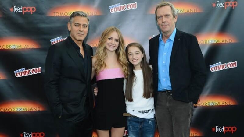 Clooney en NY