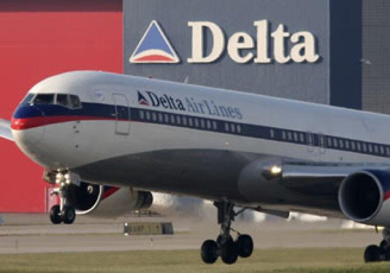Delta y American Airlines han sido de las aerolíneas que más han ampliado sus operaciones a México y aprovechado la salida de Mexicana. (Foto: AP)