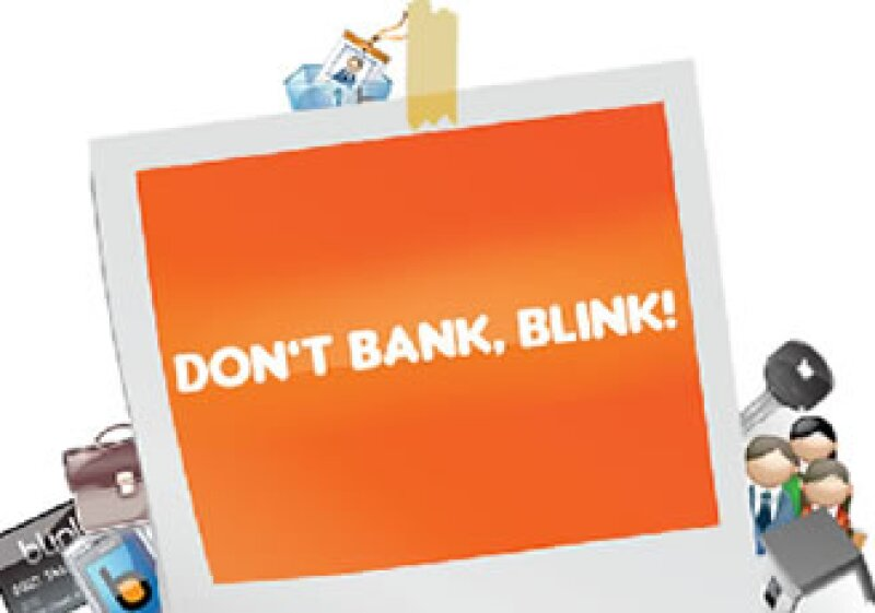 Blink.com permitirá al usuario realizar transacciones como transferencias, pagos a terceros y consulta de saldos. (Foto: Cortesía Blink.com)
