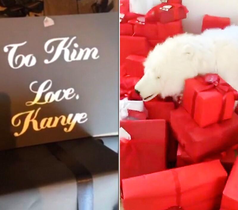 Estos fueron algunos de los regalos que la estrella televisiva recibió.