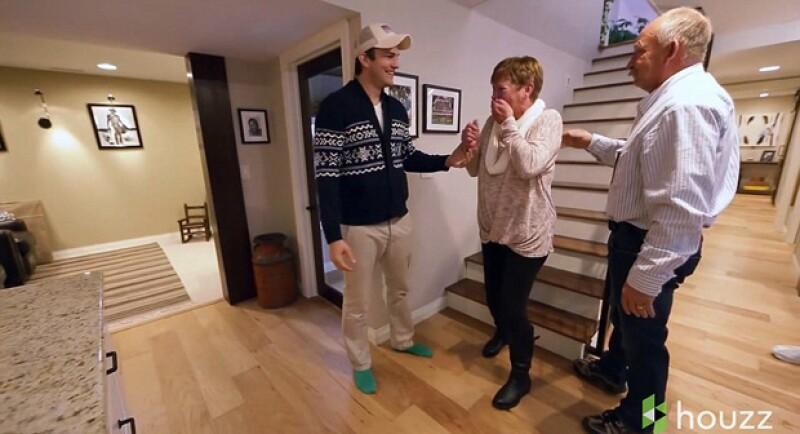 El actor se anticipó a la celebración del Día de la Madre regalando a Diane la remodelación de la casa donde vivió en su infancia. Esta fue su emotiva reacción.