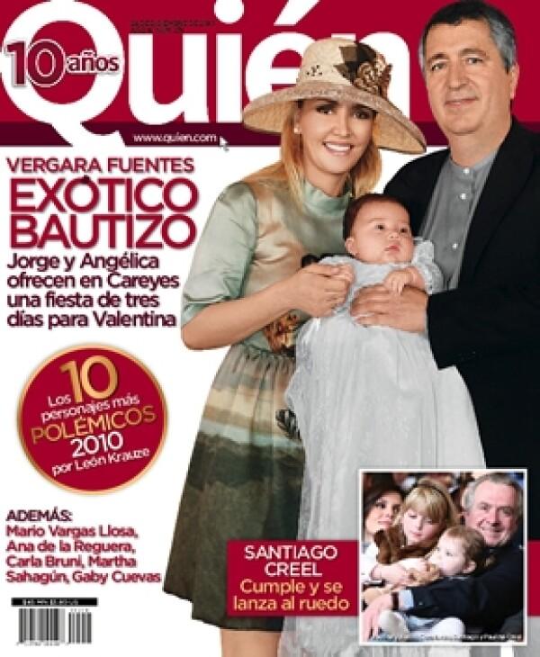 La nueva revista Quién estará disponible esta semana.