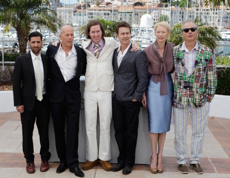 El Festival de Cine de Cannes arrancó con el cuidadoso Wes Anderson, el bromista Sacha Baron Cohen y un camello.