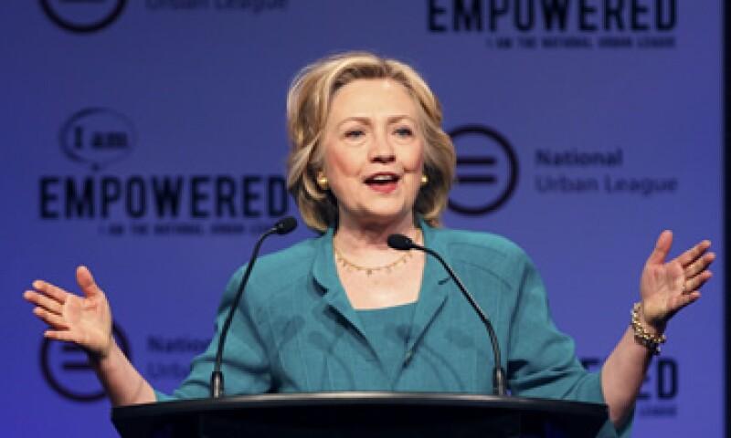 El 99% de las donaciones son para la fundación de la familia Clinton. (Foto: Reuters )