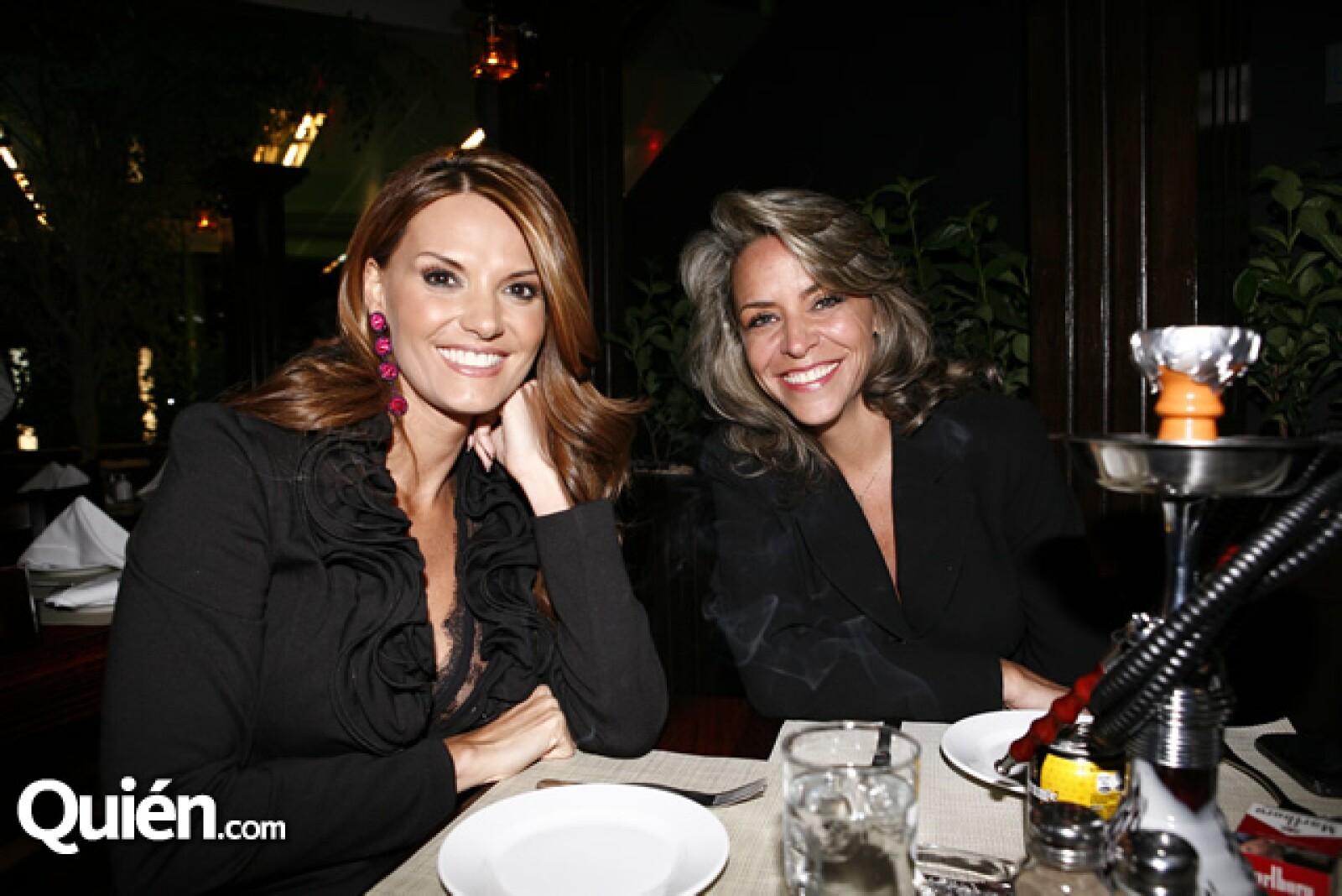 Maritere Alessandri y Mercedes Santinelli