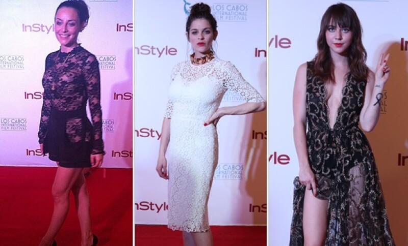 Marimar Vega, Irene Azuela y Tessa Ia figuraron entre las más guapas de la noche con sofisticados looks.