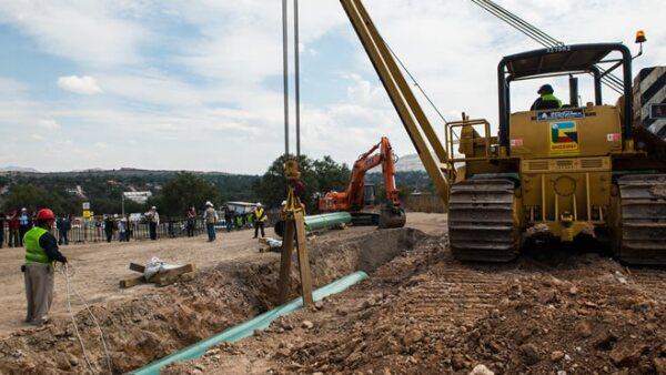Gasoducto Construcción