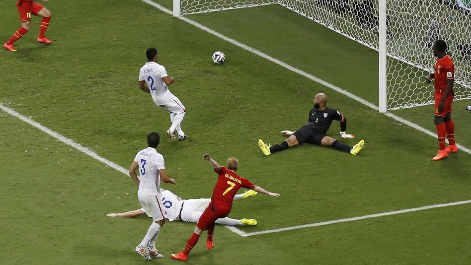 primer gol, Bélgica