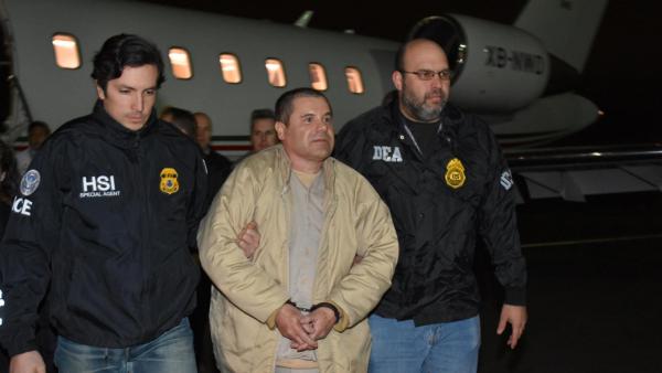 chapo extraditado