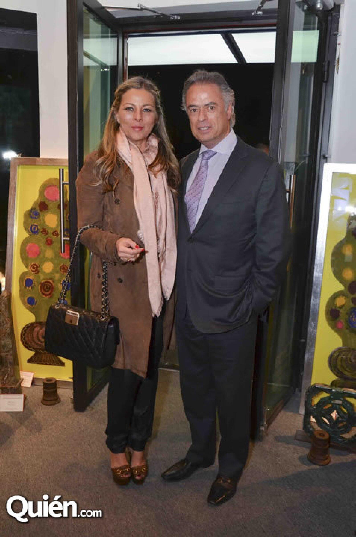 Gloria y Carlos Corral