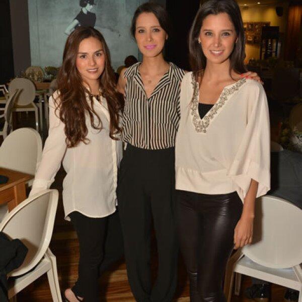 Linett Ramírez,Diana y Martha Cerda