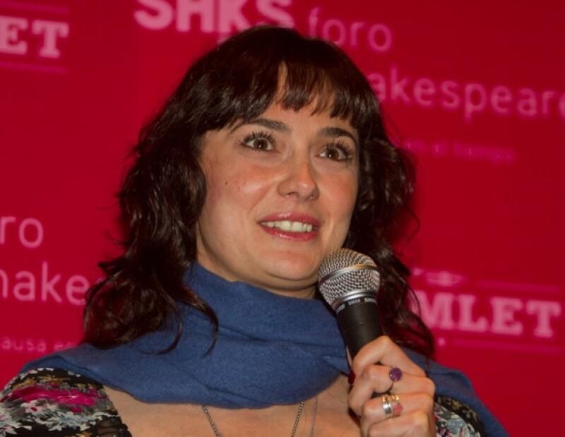 La directora del Foro Shakespeare invitó a el público mexicano a acudir al teatro a ver propuestas diferentes.