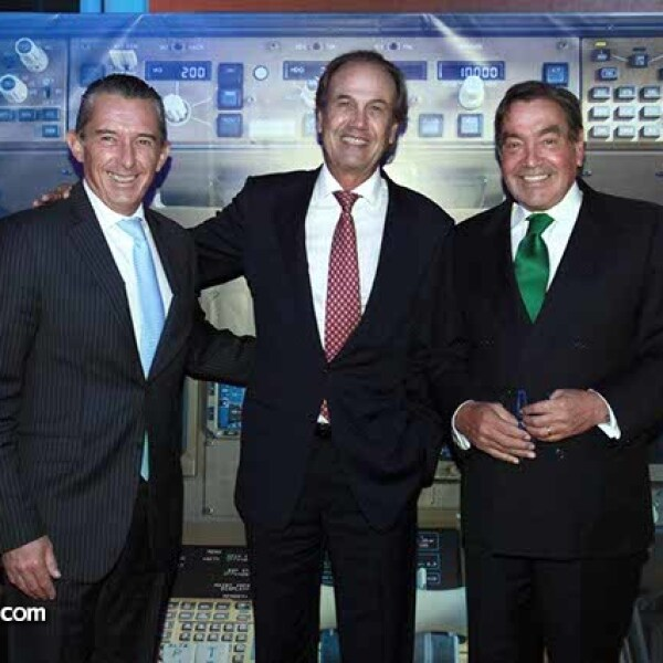 Miguel Osio,Fernando Senderos y Manuel Somoza