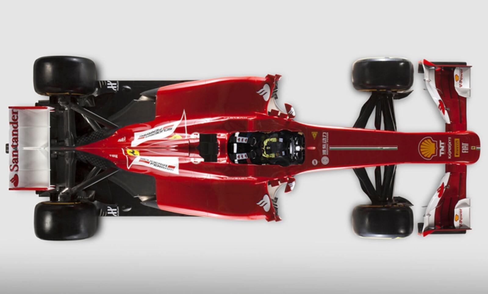 El nuevo Ferrari debutará la próxima semana cuando comienzas las pruebas de pretemporada del Gran Premio de Australia.