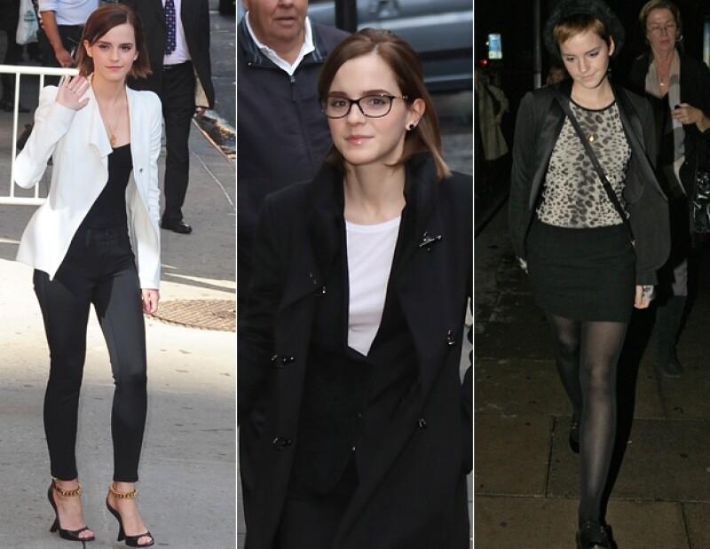 Los looks de Emma Watson llaman la atención de bloggueros y fashionista por igual; nos dimos a la tarea de analizar pieza por pieza y lo que encontramos fue una sorprende coherencia en todo lo que usa