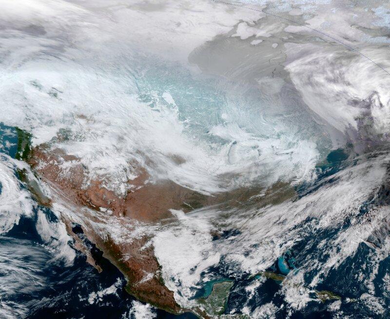 Bajas temperaturas Estados Unidos