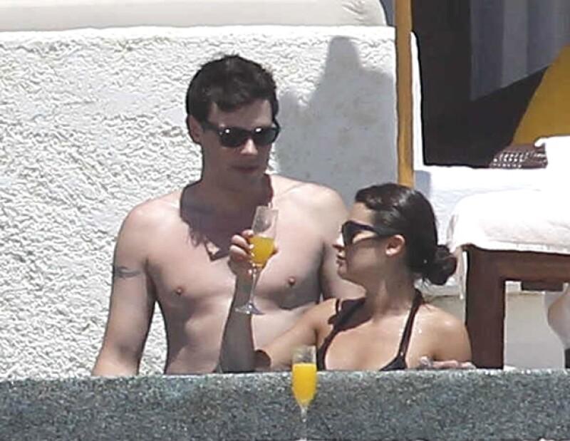 La actriz de Glee se escapó por unos días a las playas mexicanas para descansar a lado del también actor Cory Monteith.