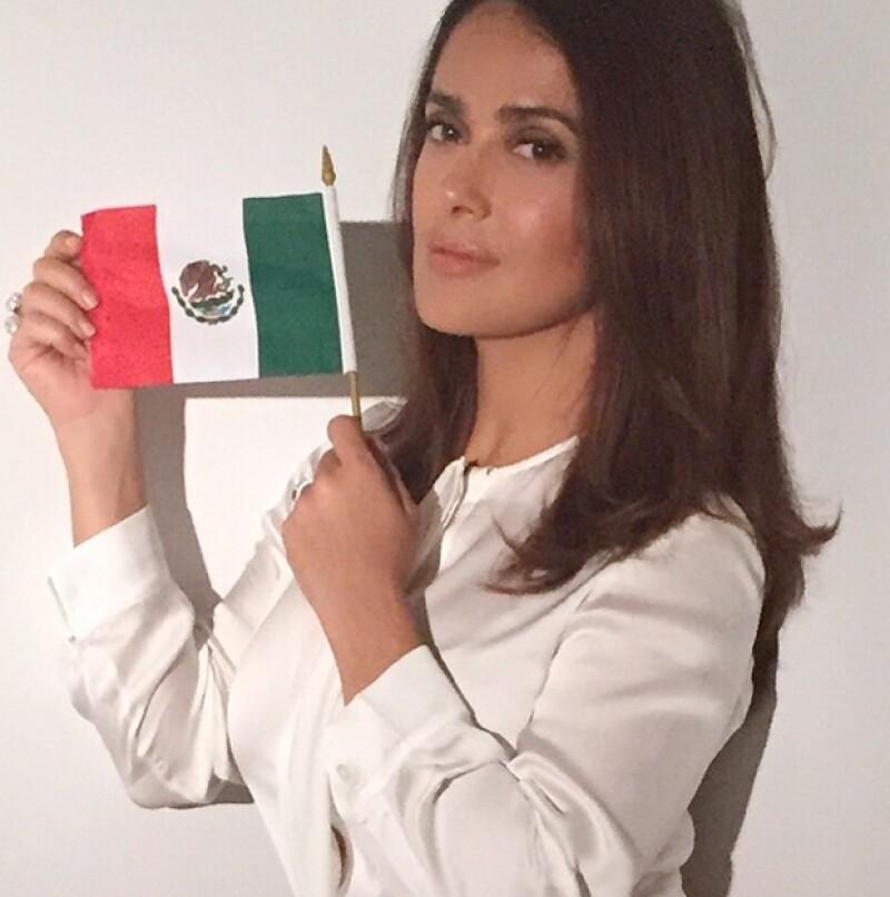 La actriz y productora mexicana aceptó conocer al empresario desde hace un tiempo y cuando Jimmy Kimmel le dijo que usara su conexión para que cambiara de idea sobre los mexicanos, ella respondió...