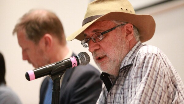 Javier Sicilia en 2018