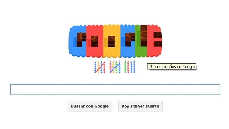 google doodle cumpleaños 14
