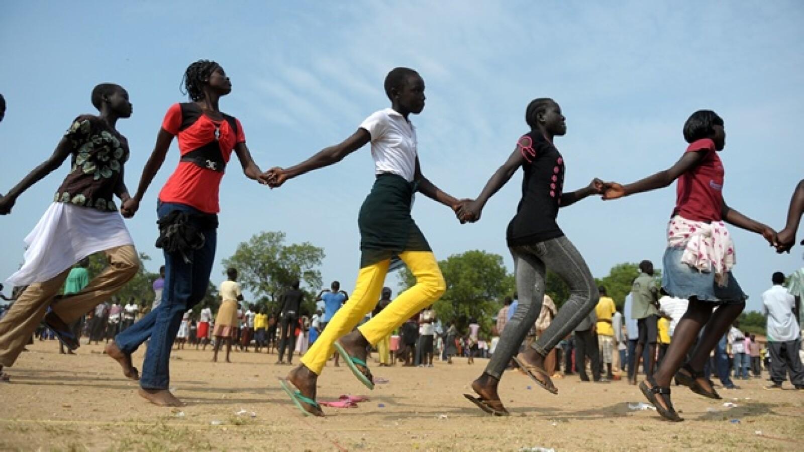 Sudán del sur - independencia - ensayos