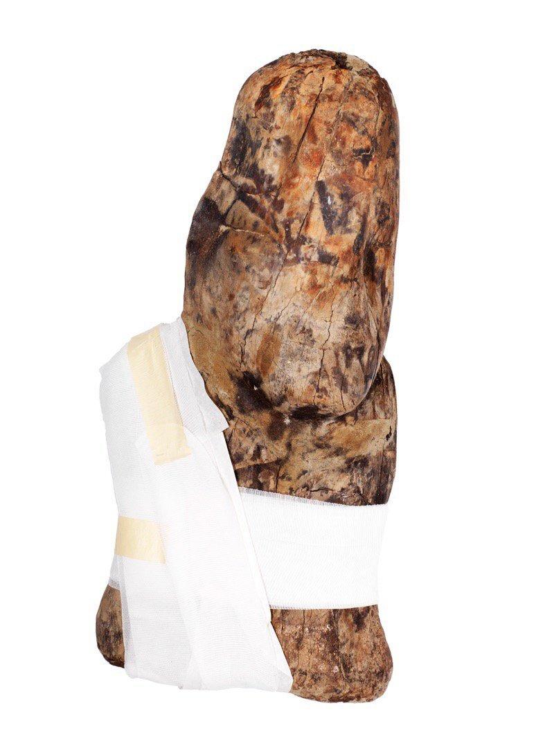 Busto de madera