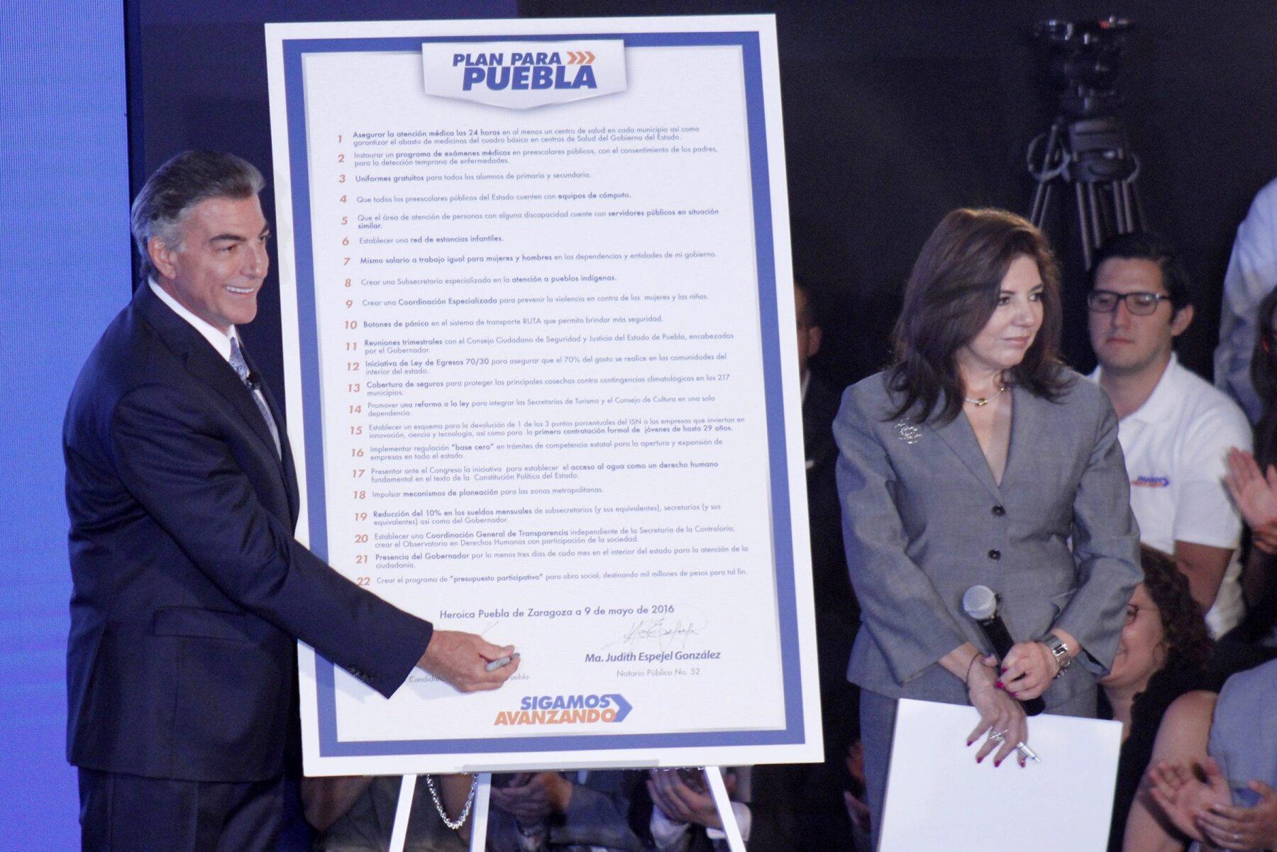 Las propuestas del candidato del PAN, Antonio Gali, están enfocadas en combatir la pobreza y generar empleos.