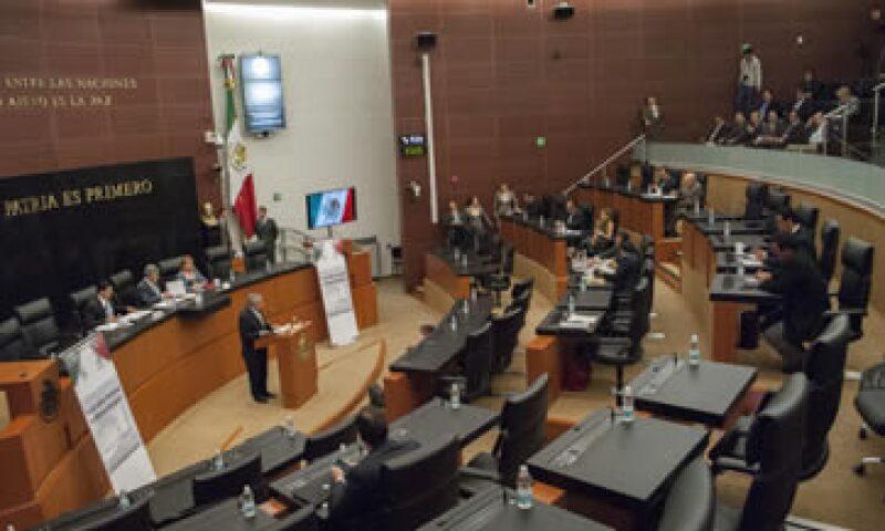 El Senado espera que la discusión de la reforma en comisiones se realice hasta el domingo.(Foto: Cuartoscuro)