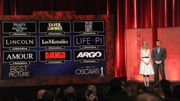 La entrega número 85 se realizará el 24 de febrero en una ceremonia transmitida en vivo por ABC desde el Teatro Dolby de Hollywood.