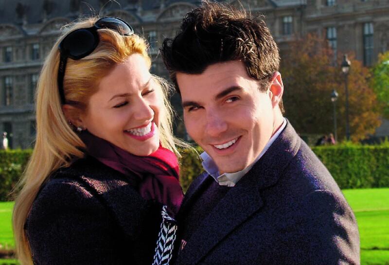 Quién® ha viajado con la pareja. Aquí en París, en 2006.