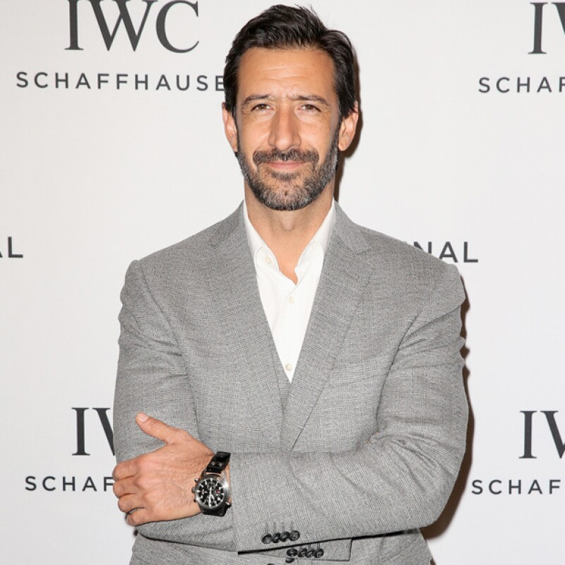 """Durante la fiesta que organizó IWC en Ginebra, platicamos con el actor sobre los inicios de su carrera. Recordó el reto que en su momento fue interpretar al personaje de """"La vida en el espejo""""."""