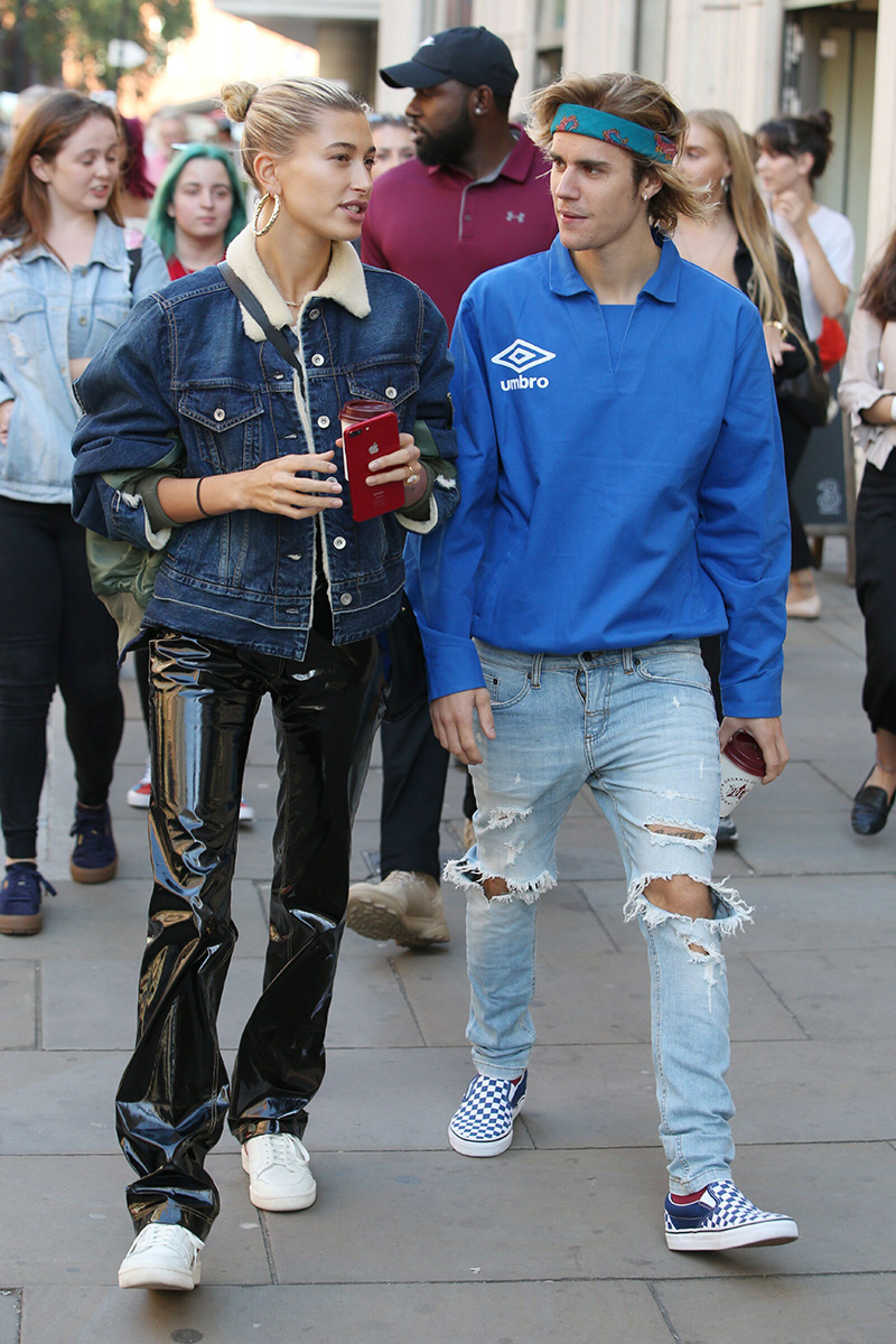 Justin Bieber and Hailey Baldwin out and about, London, UK - 17 Sep 2018