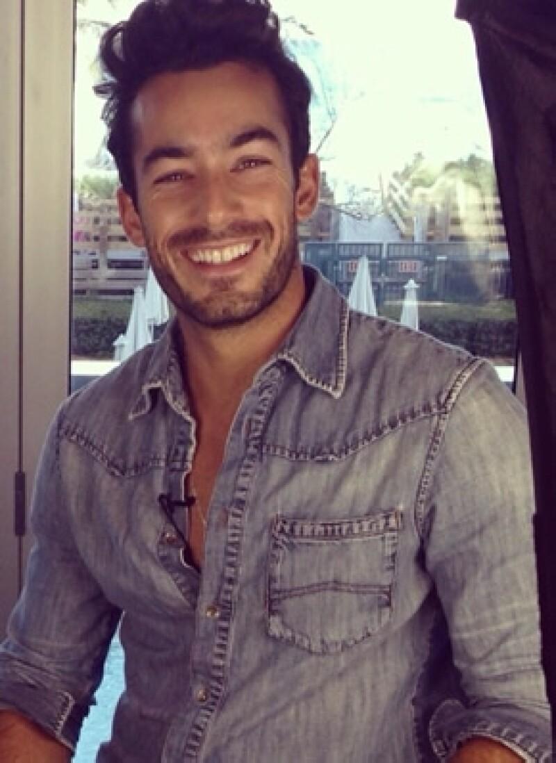 Aarón Díaz tiene 31 años y nació en Guadalajara.