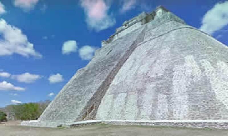 Uxmal es parte de los destinos virtuales en Street View. (Foto: Street View )