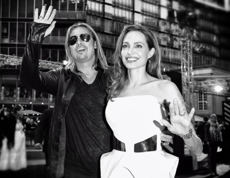 Lejos de colapsar su relación con el actor y productor de cine, la mastectomía doble a la que se sometió Angie hizo más fuertes sus lazos.