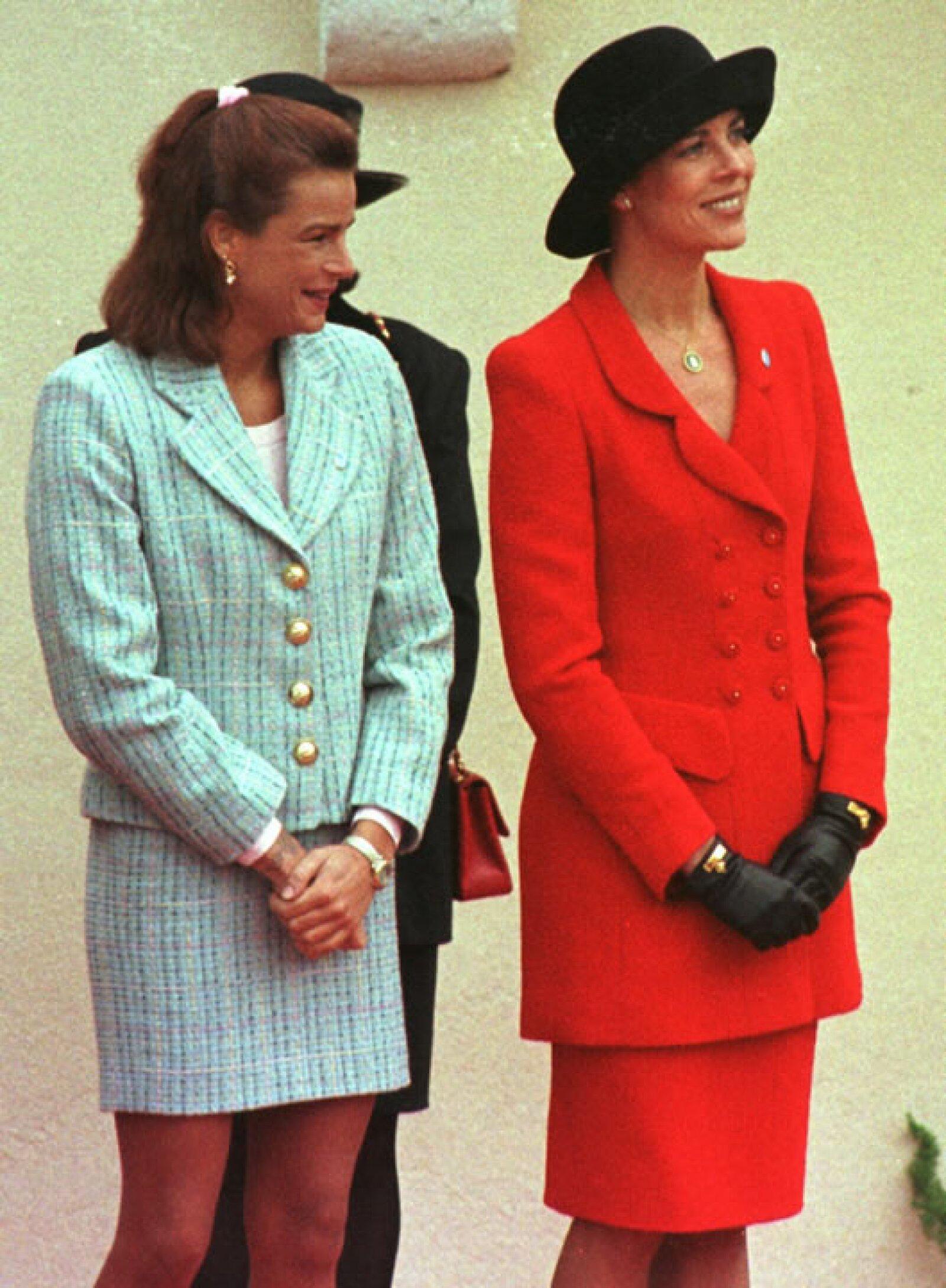 Carolina es la primera hija del matrimonio Raniero III de Mónaco y Gracia Patricia.