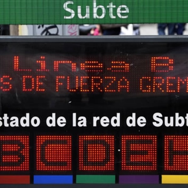 argentina huelga