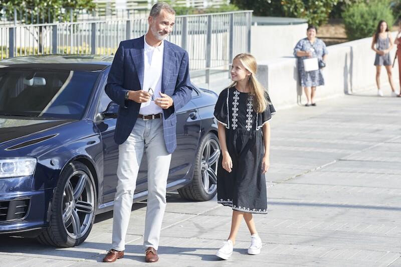 Spanish Royals Visit King Juan Carlos At Quiron Hospital