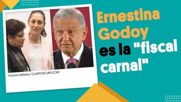 """Muy bien dicho que Ernestina Godoy es la """"fiscal carnal"""" : AMLO ⏩  #EnSegundos"""