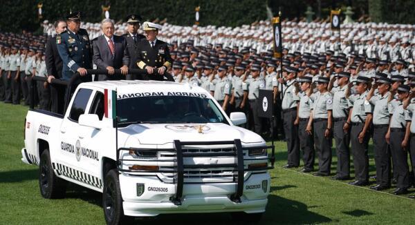 Presentación de la Guardia Nacional.