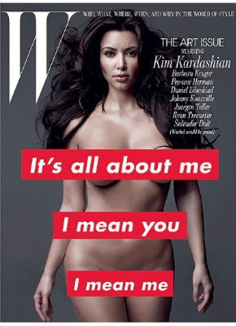 Tras su famosa portada completamente desnuda, viene a recuerdo un episodio de su reality donde ella lloraba por una sesión de fotos donde apareció desnuda hace cuatro años.