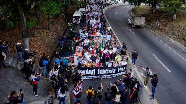 caminata por la verdad justicia y paz