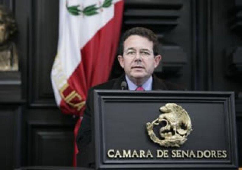 Francisco Arroyo Vieyra, vicepresidente de la Mesa Directiva del Senado de la República. (Foto: Cámara de Senadores)