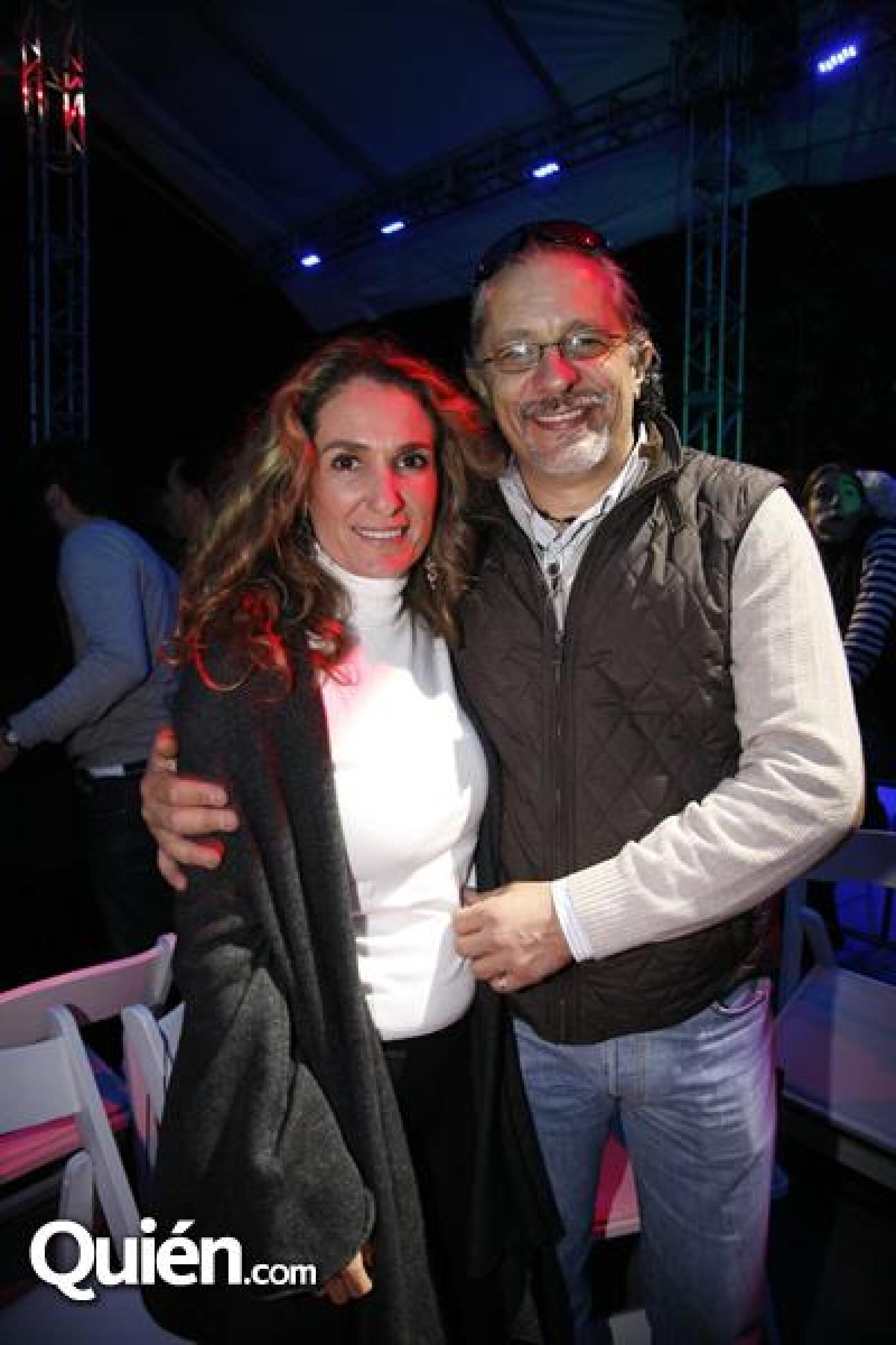 Sandra Calderón,Juan Calderón