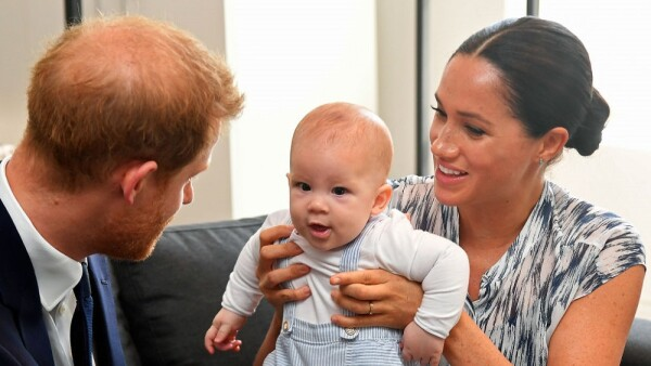 Príncipe Harry, Archie Harrison y Meghan Markle