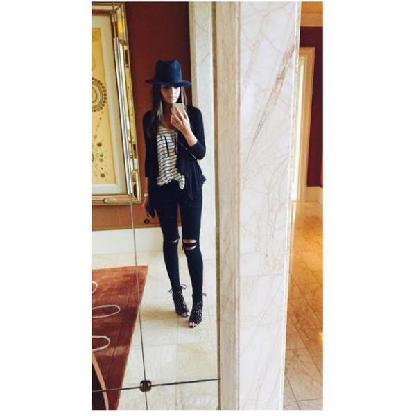 Ximena Navarrete derrochando estilo en Las Vegas