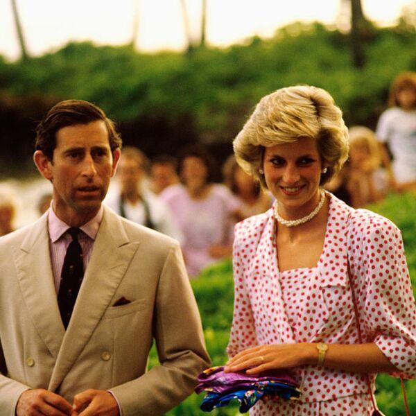 Prince Charles and Princess Diana in Hawaii