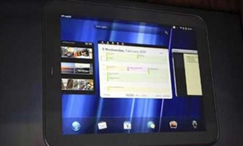 Touchpad usará el sistema informativo de Pal, WebOs. (Foto: Reuters)