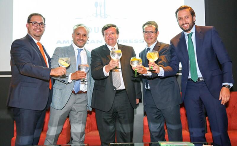 Juan Carlos Cardona, Nicolás Vale, José María Zas, Erik Siersen y Manuel Quintanera